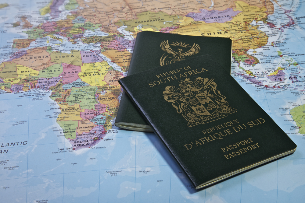 Europe Tourist Visa Requirements for a South African citizen